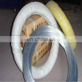 High quality electro galvanized iron wire /Factory export galvanized common nail wire price