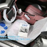 Car Steering Wheel Cover For Universal Disposable Plastic Covers,eavy 4 mil 100% American Protective Cover Auto Adhesive