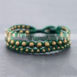 China factory green bohemia style string roll jewelry chain XE09-199