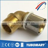Experience manufacturer lead free brass nipple fittings elbow dzr pex union with ODM service