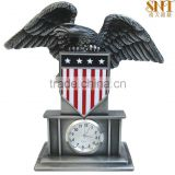 2016 home decoration clock gifts for dad antique style men eagle shape