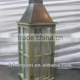 new design handmade antique cheap wooden candle lantern wholesale for home decor. HW2066