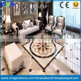 House Interior Decorative Floor Marble Waterjet Medallion                                                                         Quality Choice