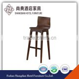 Online discount modern wooden commercial rustic counter bar stools with backs