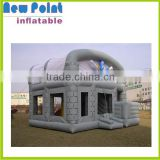 White inflatable bouncers inflatable bounce house with windows inflatable jumpers water slide jumpers