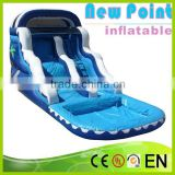 New Point inflatable water slides for summer,new style soft inflatable water slide,inflatable water slides