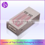 Cheap Custom Colorful Printed Silver Metallic Paper Cosmetic Packaging Reverse Tuck End Box                                                                         Quality Choice