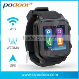 Android smart watch,android 4.4 /WIFI/GPS/3G/Dual-core /GSM /Nike running/Android watch for mobile phone,Android Smart Watch