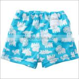 infant product 100% polyester swimwear for babies with leak guard kid wear toddler clothing children made in Japan