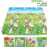 Double-side colorful play mat for children