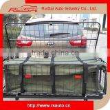 Hitch mount folding cargo carrier basket with waterproof luggage bag                                                                         Quality Choice