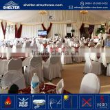 Wholesale price aluminum alloy frame marquee generator tent for a wedding inside with flooring carpet