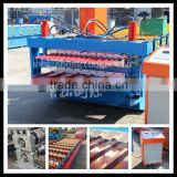 corrugated sheet metal roof making machine, Double Layer for Corrugated and Trapezoidal Roof Tile Machine                                                                                         Most Popular