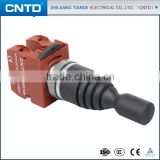 CNTD Hot selling 2 position stay put type Monolever Switch Pushbutton Switch with Waterproof cover(C2MN-F2)