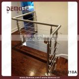 indoor plexiglass stairs handrail designs or steel flat bar stair handrail
