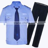 cheap security shirt uniform,customize design security guard uniform workwear