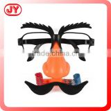 Festive or Party Supplies fake glasses for kids new style wacky glasses with EN71 ASTM and more