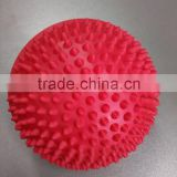 2016 hotsale fitness soft spiky balance pod pvc half massage ball                                                                         Quality Choice
