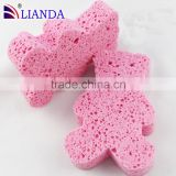African continent shape wood pulp cotton, cleaning cellulose sponge                                                                         Quality Choice