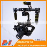 Maytech 3 axis DSLR hand held gimbal brushless for Canon 5D camera gimbal for aerial photography