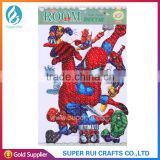 Newest and hot sale 3D laser spiderman wall sticker for decoration