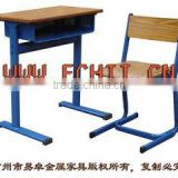 vintage school furniture/High quality desk and chair/Inexpensive single classroom set/Durable Middle school furniture