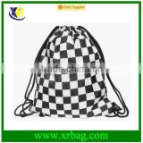 Women Mochila Man Sport Gym Bags Travel Backpack Geometry Printing Shoe Drawstring Bag
