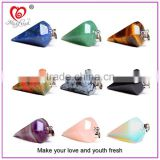 New arrival stone jewelry necklace multi-color quartz pendant wholesale pendant for women