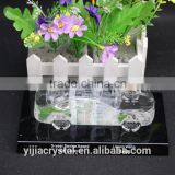 Factory directly sale wholesale price clearly 3D Crystal car model with base togther for wedding souvenir office decoration gift