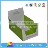 Small Cardboard Paper or Corrugated Custom Printed Counter Display Boxes Retail wholesale