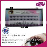 private label J/B/C/D false silk lashes eyelash extensions black eyelash extensions manufacturer