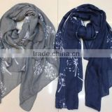 Wholesale Cheap Poly Chiffon Scarf,Lady Scarf,Fashionable gaze de paris scarf