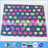 wholesale cute panda printed cotton fabric table cloth for kids