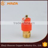 low price of high pressure brass safety valve factory
