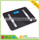 180kg 400bl electronic body fat bathroom scale , digital body fat scale analyze muscle, bone, BMI for human body weighing