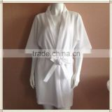 wholesale new design comfortable spa hotel use waffle bath robe
