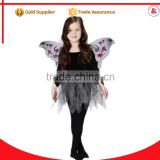 cheap wholesale child fairy costumes 1year baby girl black chiffon fairy dress