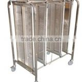 ESD PCB trolley for PCB Storage Cart /stainless steel trolley with wheels