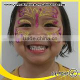 rhinestone kids eco friendly glitter face stickers, face art stickers                                                                         Quality Choice