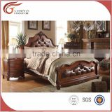 A51 Solid wood bedroom furniture set,dressing mirror,night stand
