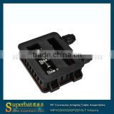 PV Solar Junction Box for 80-110watt solar panel,3rails, DC 1000V solar power mc4 connector