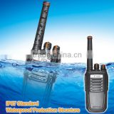 lastest hands free radios two way dustproof waterproof handheld transceiver 2-way radio walkie talkies two way radios ce fcc