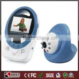 "New Style Baby Monitor Kit 2.4GHz Digital Two Ways Video Camera Night Vision 2.4""LCD Intercom Infant Monitors"