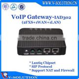 2FXS Ports VoIP Gateway ATA Phone Adapter SIP Gateway for Wholesale Market Made in China