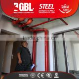cheap building materials astm a795 fire fighting steel pipe