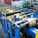 Metal Coil Formed Rectangular Pipe Making Machine , Automatic Square Pipe Making Machine