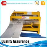 Hydraulic aluminum steel coil slitting line rolled steel sheet slitting machine