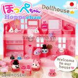 Convenient and Cute miniature furniture for dollhouse dropship Hoppe-chan Toy House Sets with multiple functions