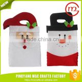 Bulk sale cheap decor handle candy christmas gift bag
