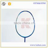 High quality hot sales high strength 100% real carbon fiber badminton rackets with competitive price